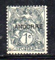 R784 - ANDORRA FRANCESE , Unificato N. 2 ***  MNH - Neufs