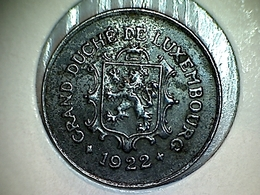 Luxembourg 5 Centimes 1922 - Luxembourg
