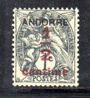 R776 - ANDORRA FRANCESE , Unificato N. 1  *** - Andorre Français