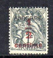 R755 - ANDORRA FRANCESE , Unificato N. 1  *** - Andorra Francese