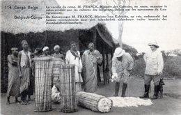 EP N° 61 - Vue 114 La Récolte Du Coton Expédié D'Elisabethville Vers Un Brasseur à Jandrain (Belgique) - Interi Postali