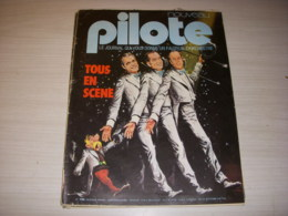 PILOTE 756 02.05.74 DE DION BOUTON MATRA FERRARI CARICATURE REDFORD PUB CAMEL - Pilote