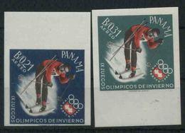 1964 Panama, Olimpiadi Di Innsbruck , Serie Non Completa Nuova (**) Non Dentellata - Panama