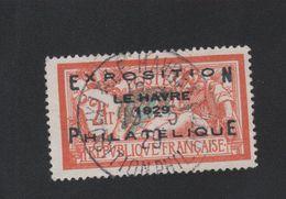 Faux N° 257A 2 F Merson Exposition Philatélique Du Havre Oblitéré Du Salon - Gebraucht