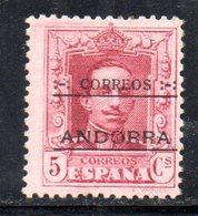 R757 - ANDORRA SPAGNOLA , Unificato N. 2  *** - Andorra Spagnola