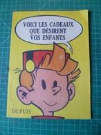 . SPIROU . Catalogue Dupuis 1958 FRANQUIN CHARLIER HUBINON  MORRIS. Voici Les Cadeaux Que Désirent Vos Enfants. - Andere Stripverhalen