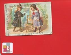 NANCY MULHOUSE ALLEMAND ELSASS PIEBAC  Confiserie Pains épices Dijon Nougat Montelimar Rare Chromo 1880 - Confiserie & Biscuits