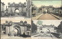 Vitry Le François  La Porte Du Pont  4 CPA - Vitry-le-François