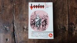 LONDON A GEOGRAPHIA GUIDE, 3'6, Années 60 - Exploration/Voyages