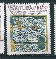 N°  1547 5 Siècles De L'Azulejo Au Portugal Timbre Portugal (1982) Oblitéré - Oblitérés