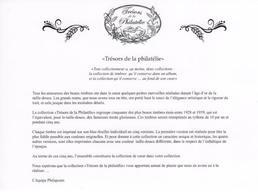 TRÉSORS DE LA PHILATÉLIE ANNÉE 2015 Complet (10 Feuillets) Avec Cadeau Feuillet Le Burelé - Très Bien - Documents De La Poste