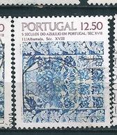 N°  1590   5 Siècles De L'Azulejo Au Portugal Timbre Portugal (1982) Oblitéré - Oblitérés