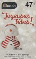 ## Carte  Cadeau  CARREFOUR  ILLICADO   ##    Gift Card, Giftcart, Carta Regalo, Cadeaukaart - Cartes Cadeaux