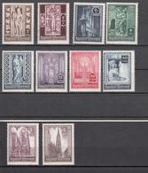 Austria (1946) - Mi. 791/800 ** - 1945-.... 2ème République