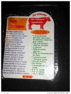 Magnet Frigo Cuisine Souple : Recette Du Boeuf Bourguignon - 7 X5 Cm ( Neuf Sous Blister) - Magnets