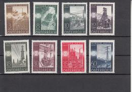 Austria (1947) - Mi. 803/810 ** - 1945-.... 2ème République