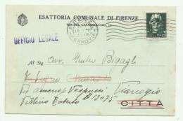 ESATTORIA COMUNALE DI FIRENZE 1935 FP - Firenze