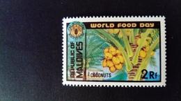 Maldives 1981 Agriculture Noix De Coco Coconut Yvert 887 ** MNH - Maldives (1965-...)