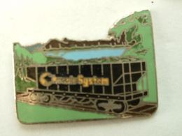 Pin's WAGON - CHESSIE SYSTEM - Transportation