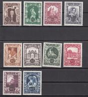Austria (1947) - Mi. 812/821 ** - 1945-.... 2ème République