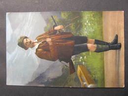 AK SALZKAMMERGUT Volkstracht Costumi 1916//  D*34901 - Altri