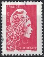 France 2018 Oblitéré Used Marianne L'engagée D'Yseult Digan LP 20g. Y&T 5253 - Frankreich