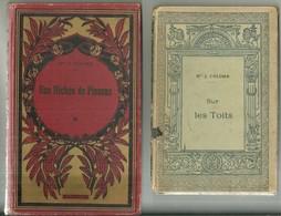 Deux Livres De Mme Colomb Sur Les Toits Et Une Nichée De Pinsons Gravures Vignettes Steinlen - Books, Magazines, Comics