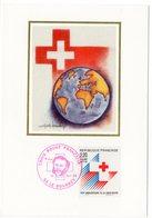 Carte Maximum 1988 - Croix Rouge  Anniversaire De La Croix Rouge YT 2555 ( Réf A0933) - 1980-89