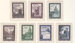 Austria (1946) - Mi. 822/828 ** - 1945-.... 2ème République