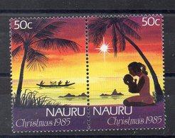 NAURU    Timbres Neufs ** De 1985  ( Ref 5790 )  NOEL - Nauru