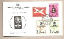 Somalia - Busta FDC Con Serie Completa: Lotta Contro La Malaria - 1962 * G - Somalia (1960-...)