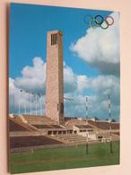 Glockenturm Am Olympiastadion / Bell Tower - BERLIN / BERLIJN - Anno 19?? ( Zie/voir Photo ) ! - Olympische Spelen
