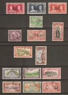 COOK ISLANDS 1937 - 1949 SETS FINE USED Cat £28+ - Cook Islands