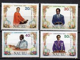 NAURU    Timbres Neufs ** De 1982  ( Ref 5793 )  NOEL - Nauru