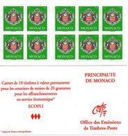 Carnet N° 14 Armoiries 2008(Clas B) - Libretti