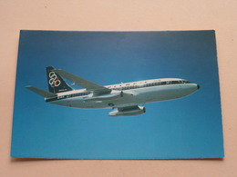 Boeing 737-200 > OLYMPIC Airways ( Print Papadopoulos ) Anno 19?? ( Zie/voir Photo ) ! - 1946-....: Ere Moderne