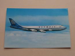 Boeing 737-200 B Jumbo Jet  > OLYMPIC Airways ( Print Papadopoulos ) Anno 19?? ( Zie/voir Photo ) ! - 1946-....: Ere Moderne