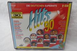 """2 CDs """"Hits 90 - Die Deutschen Superhits"""" Original 30 Superhits - Compilations"""