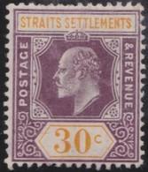Straits  Settlements       .     Yvert  .  129    .      *    .            Ongebruikt  .     /   .    Mint-hinged - Straits Settlements