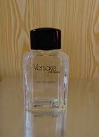 """Flacon  """"L'HOMME """" De VERSACE Eau De Toilette   100 Ml  VIDE Mais RECHARGEABLE - Bottles (empty)"""