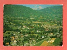 THYEZ  N° 76  VUE AERIENNE     An: 1984  Etat: TB  Edit: Cellard - France