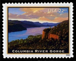 Etats-Unis / United States (Scott No.5041 - Colombia River Gorge) [**] - Etats-Unis