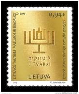 Lithuania 2017 Mih. 1259 Community Of Lithuanian Jews MNH ** - Lituanie