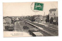 78 - HOUILLES . VUE GÉNÉRALE DE LA GARE - Réf. N°19603 - - Houilles