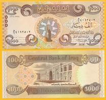 Iraq 1000 Dinars P-new 2018 Commemorative UNC - Iraq