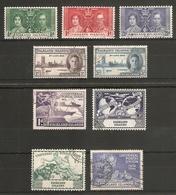 FALKLAND ISLANDS 1937 - 1949 COMMEMORATIVE SETS INCLUDING 1949 UPU SET FINE USED Cat £19 - Falkland Islands