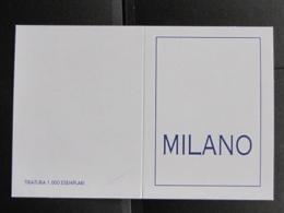 ITALIA FOLDER C&C 3231/3234f - UN FOLDER VUOTO OMAGGIO MILANO - SOLO FOLDER - Italia