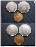 3 Pièces Monnaie République D' HAITI  ( Gourdes) 1995- 1999- 2009  - Photo Recto Verso - Haiti