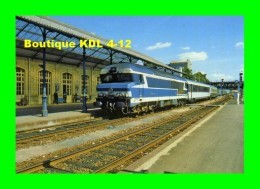 AL 195 - Train - Loco CC 72018 Entrant En Gare De NIORT - Deux Sèvres - SNCF - Niort
