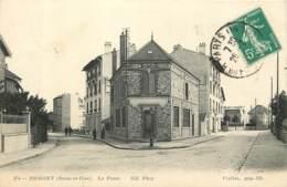 95 - ERMONT - La Poste En 1915 - Ermont